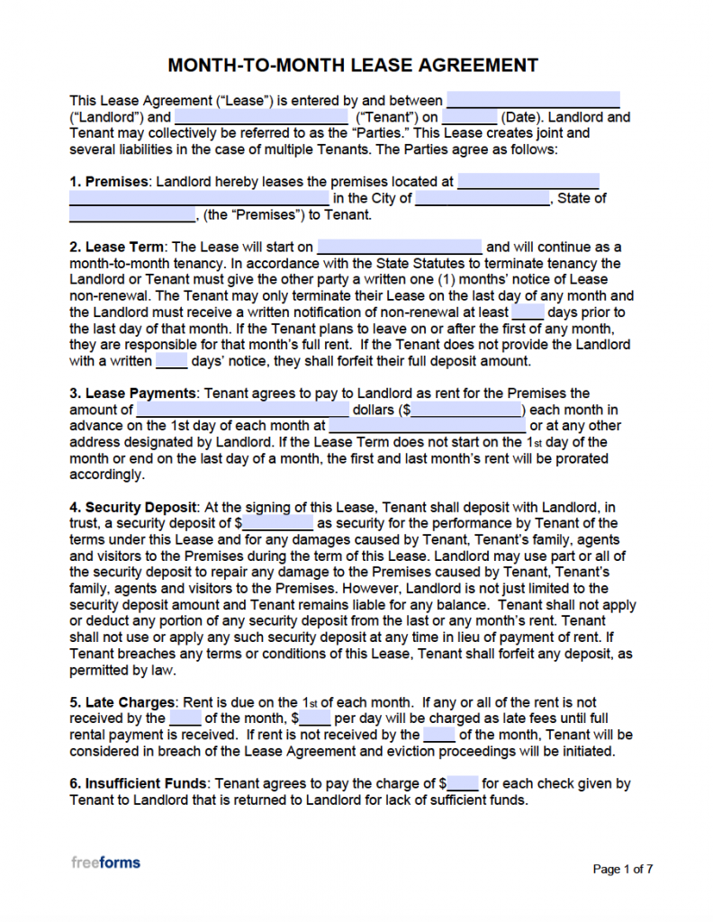 rental agreement pdf free download