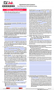 Free Texas Standard Residential Lease Agreement Template ...
